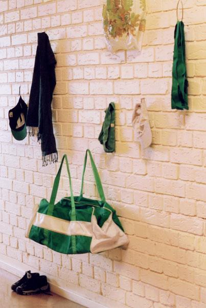 Kvarglömt gröna väskan ©: Maria Backman