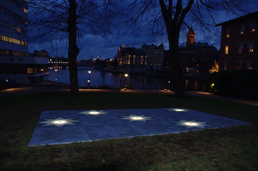 Tuppenparken nattbild ©: Lars-Ove Östensson